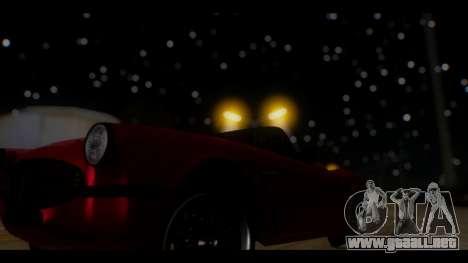 EnbTi Graphics v2 0.248 para GTA San Andreas octavo de pantalla
