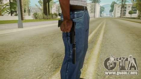 Atmosphere Silenced Pistol v4.3 para GTA San Andreas tercera pantalla