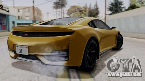 Dinka Jester Sparkle para GTA San Andreas left