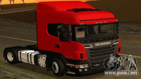 Scania R420 4x2 para GTA San Andreas left