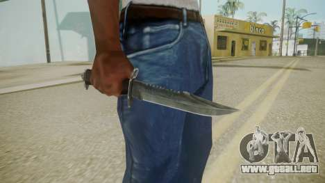 Atmosphere Knife v4.3 para GTA San Andreas tercera pantalla