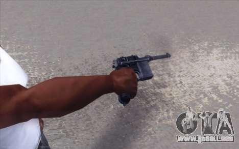 Realistic Weapons Pack para GTA San Andreas quinta pantalla