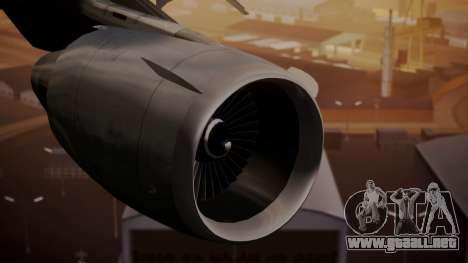 DC-10-10 United Airlines (80s Livery) para la visión correcta GTA San Andreas
