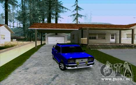 VAZ 2107 de Optimización para GTA San Andreas