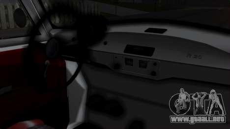 Syrena R20 v1.0 para la visión correcta GTA San Andreas