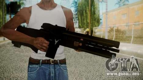 VXA-RG105 Railgun with Stripes para GTA San Andreas