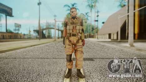 Venom Snake Golden Tiger para GTA San Andreas segunda pantalla