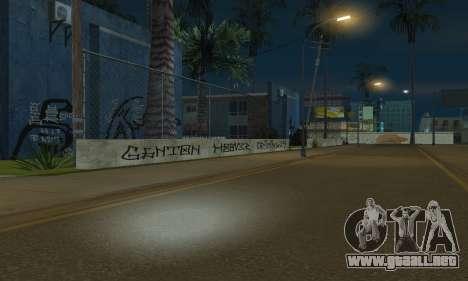 HooverTags para GTA San Andreas sexta pantalla