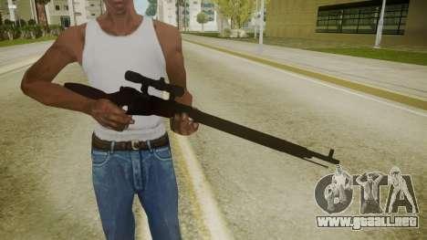 Atmosphere Sniper Rifle v4.3 para GTA San Andreas tercera pantalla