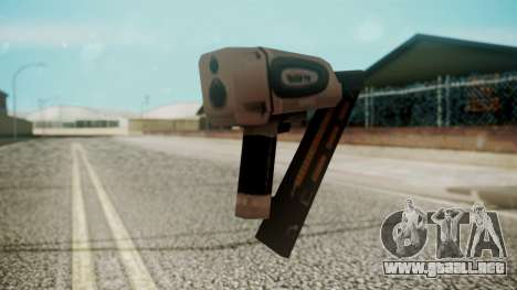 Nail Gun from Resident Evil Outbreak Files para GTA San Andreas segunda pantalla