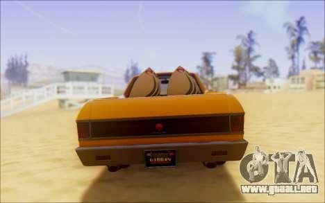 Cheval Picador Surfista para la visión correcta GTA San Andreas