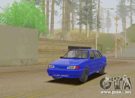VAZ 2115 de Escorrentía para GTA San Andreas