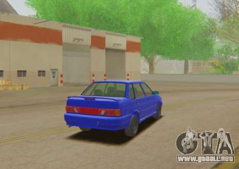 VAZ 2115 de Escorrentía para GTA San Andreas left