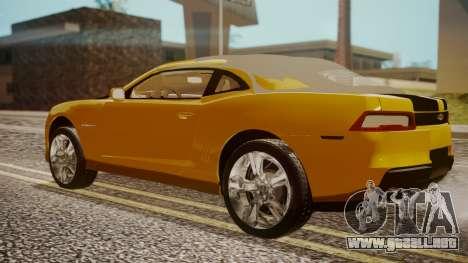 Chevrolet Camaro SS 2015 para GTA San Andreas left