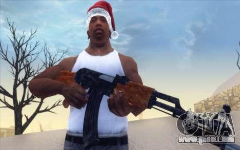 Realistic Weapons Pack para GTA San Andreas segunda pantalla