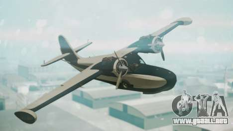 Grumman G-21 Goose Black and White para GTA San Andreas