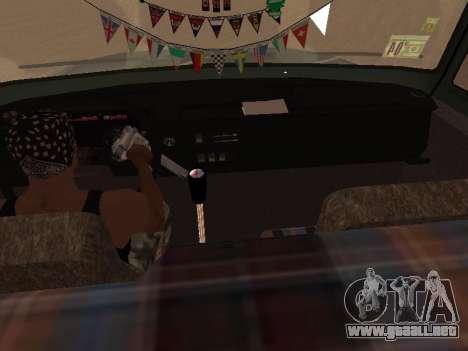 ZIL-133 05A para vista inferior GTA San Andreas