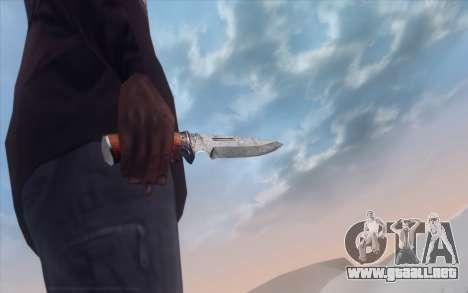 Realistic Weapons Pack para GTA San Andreas sexta pantalla