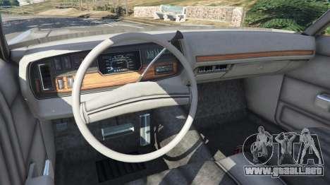 GTA 5 Dodge Polara 1971 v1.0 vista lateral trasera derecha