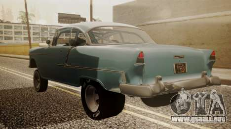 Chevrolet Bel Air Gasser para GTA San Andreas left