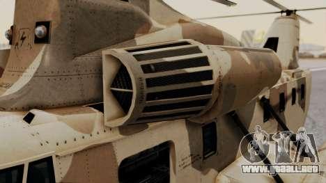 GTA 5 Cargobob para la visión correcta GTA San Andreas