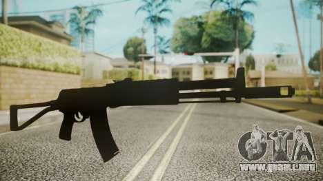 AK-47 by catfromnesbox para GTA San Andreas segunda pantalla