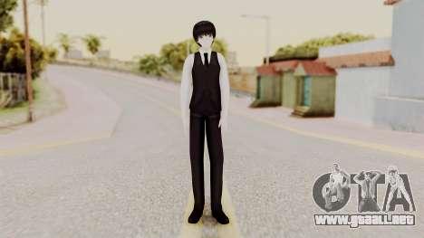Kaneki Anteiku (Tokyo Ghoul) para GTA San Andreas segunda pantalla