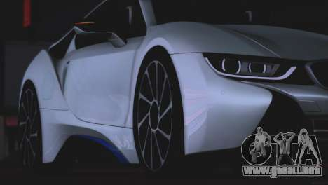 BMW i8 Coupe 2015 para visión interna GTA San Andreas