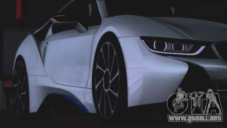 BMW i8 Coupe 2015 para visión interna GTA San Andreas