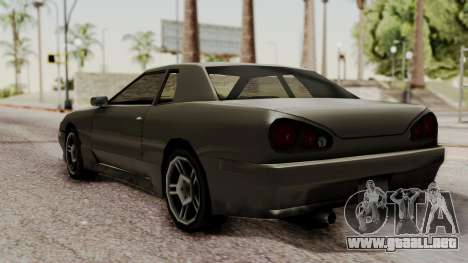 Elegy The Gold Car 2 para GTA San Andreas vista posterior izquierda
