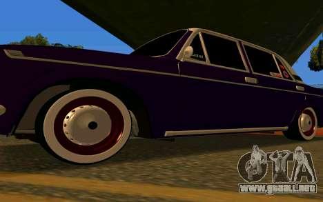 La berenjena VAZ 2103 para visión interna GTA San Andreas