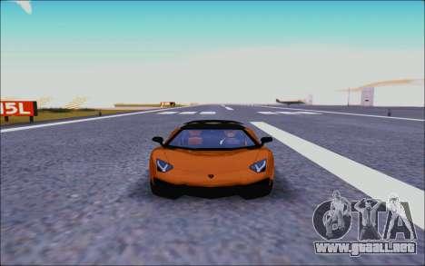 Lamborghini Aventador MV.1 [IVF] para visión interna GTA San Andreas