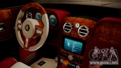 Rolls-Royce Ghost v1 para la visión correcta GTA San Andreas