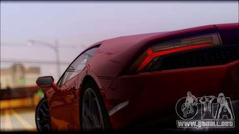 KISEKI V4 para GTA San Andreas sucesivamente de pantalla