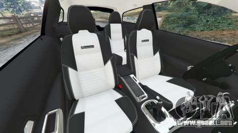 GTA 5 Volvo C30 T5 vista lateral derecha