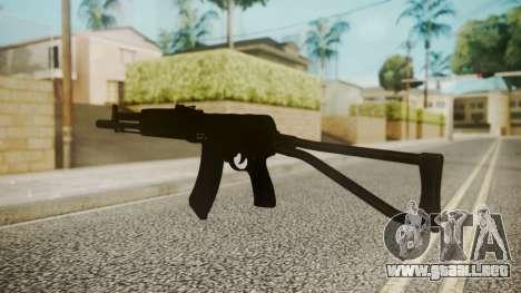 AK-47 by catfromnesbox para GTA San Andreas tercera pantalla