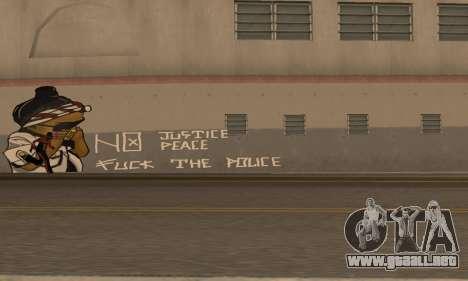 HooverTags para GTA San Andreas segunda pantalla