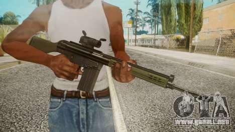 Rifle by EmiKiller para GTA San Andreas tercera pantalla