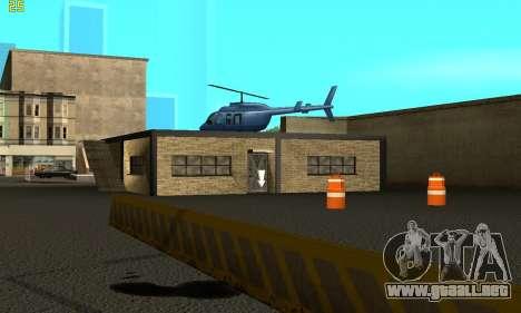 Reemplazo de texturas para la escuela de Conducc para GTA San Andreas segunda pantalla