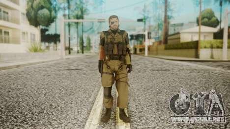 Venom Snake Other Arm para GTA San Andreas segunda pantalla