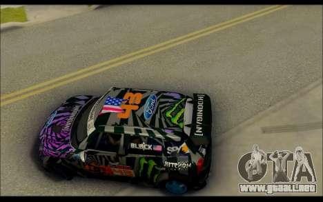Mini Cooper Gymkhana 6 with Drift Handling para la visión correcta GTA San Andreas