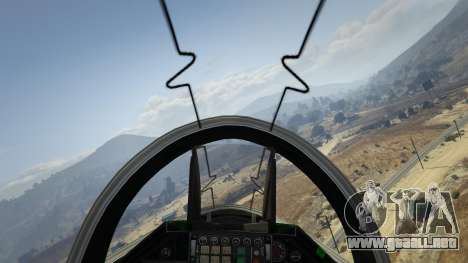 GTA 5 Realistic Flight V 1.6 tercera captura de pantalla