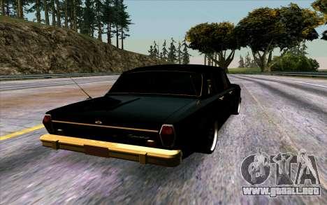 GAZ 24 Volga para la visión correcta GTA San Andreas