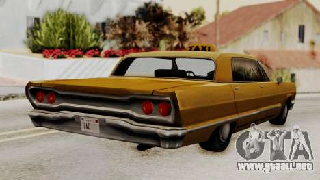 Taxi-Savanna v2 para GTA San Andreas left