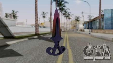 Shadow Dagger Gradient para GTA San Andreas