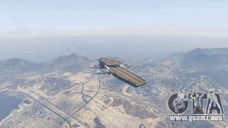 GTA 5 S.H.I.E.L.D. Helicarrier cuarto captura de pantalla
