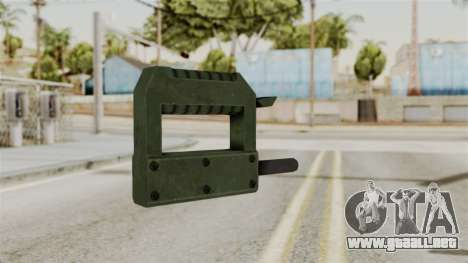 Bomb from RE6 para GTA San Andreas segunda pantalla
