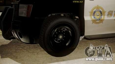 GTA 5 Declasse Granger Sheriff SUV para la visión correcta GTA San Andreas