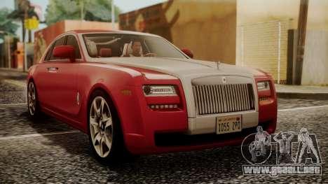 Rolls-Royce Ghost v1 para GTA San Andreas