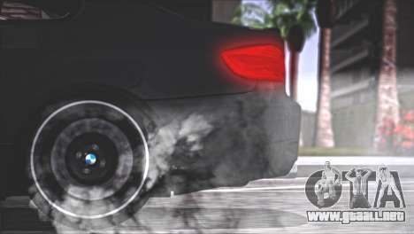 BMW M3 E92 2008 para vista inferior GTA San Andreas